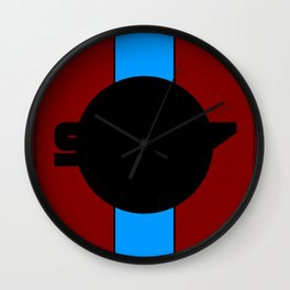 917 Gulf Racing Design Wall Clock