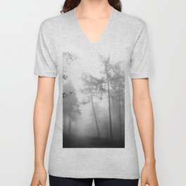 TROUGHT THE FOREST Unisex V-Neck