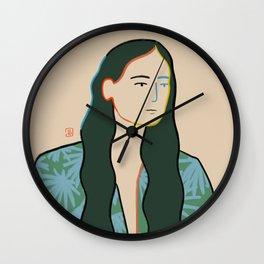 GIRL IN LOVE Wall Clock