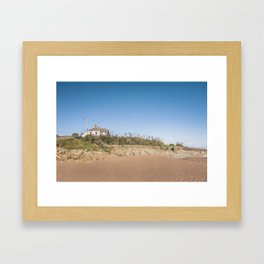 Sandy beach in Ireland Framed Art Print