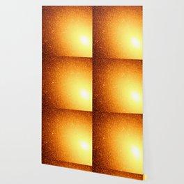 Golden Sun Stars Wallpaper