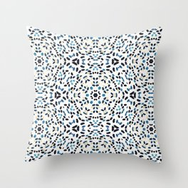 Splits Kaleidoscope Throw Pillow