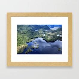 Misty Fiords national monument 2 Framed Art Print
