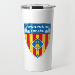 Formentera Spain Travel Mug