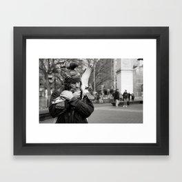 Birdman Pt. II Framed Art Print