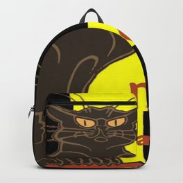 Le Chat Noir De Saint David De Rodolphe Salis Backpack