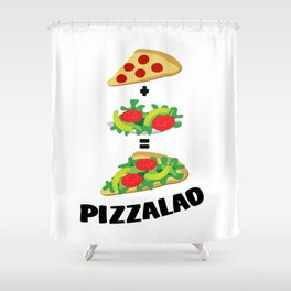 Pizzalad Shower Curtain
