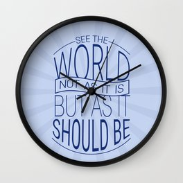 See The World Wall Clock