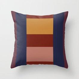 Rectangle layout Throw Pillow