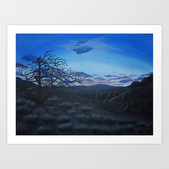 Dawn or Dusk Art Print