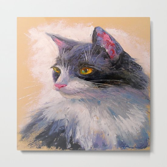 A lovely cat Metal Print