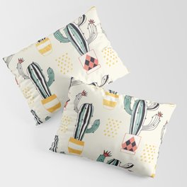 Cactus in a Pot Pillow Sham