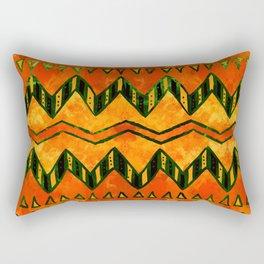 Aztec Ethnic Pattern Art N16 Rectangular Pillow