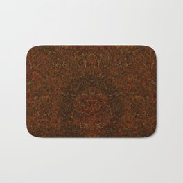 Azteca - Ancient Mexican Pattern II Bath Mat