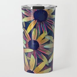 Artistic Black Eyed Susans Travel Mug