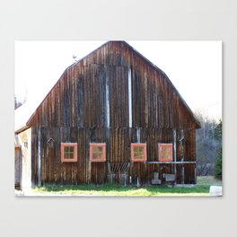 Rustic Old Country Barn Canvas Print