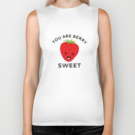 You Are Berry Sweet Biker Tank