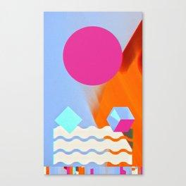 Shaped, #3 Canvas Print