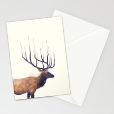 Elk // Reflect (Right) Stationery Cards