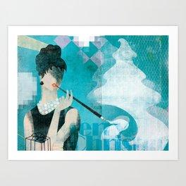 Merry X-mas ( 2011 ) ... Art Print