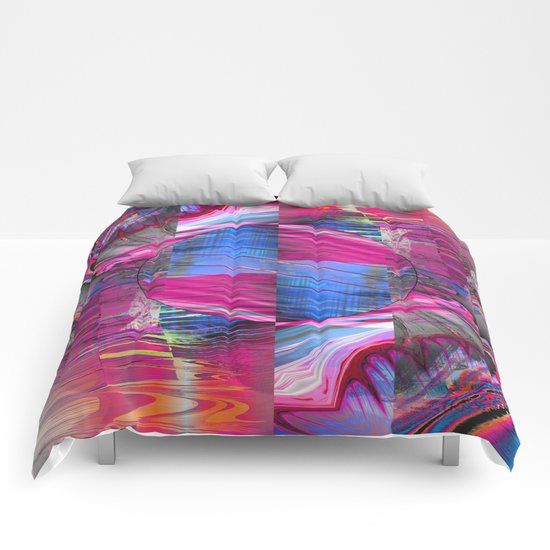 mixed all into one III Comforters