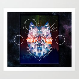 Spirit of Wolfsbane Art Print