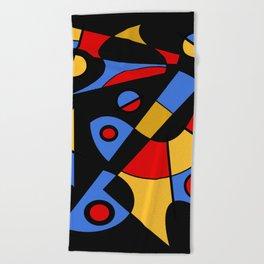 Abstract #115 Beach Towel