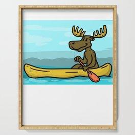 Kayak Canoe Canoe Gift Canoes kayaker Serving Tray