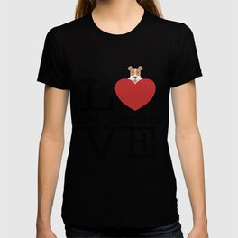 Love Cute Rat Terriers T-shirt