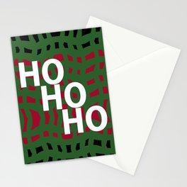 Ho Ho Ho Season's Greetings Stationery Cards