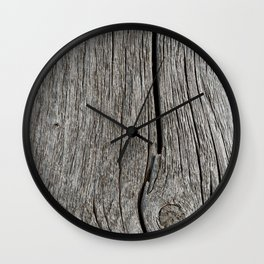 Wood Grain 1, Usona Wall Clock