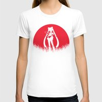 sailormoon T-shirts featuring Red Moon SailorMoon by Timeless-Id
