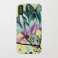 popart iPhone & iPod Cases featuring MAGNOLIA - PopArt by CAPTAINSILVA