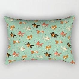 Goldfish Pattern Rectangular Pillow