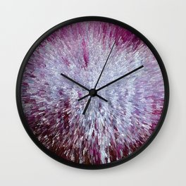 Extruded Wall Clock