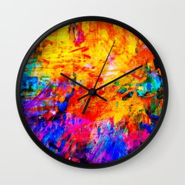 Colorful Mind Wall Clock
