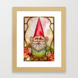 Little Traveler Framed Art Print