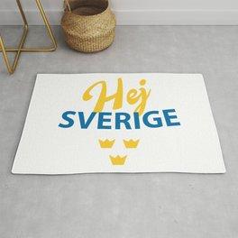 Hej Sverige, Hello Sweden Rug