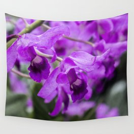 purple flowers • nature photography Wall Tapestry
