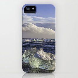 Jokulsarlon Lagoon Beach 04  iPhone Case