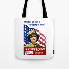 Join The WAC Now -- Army Recruiting Tote Bag