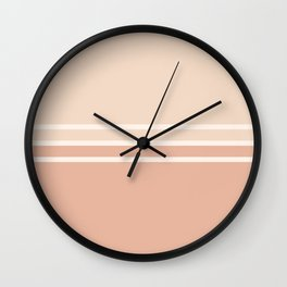 Lines Rose Wall Clock