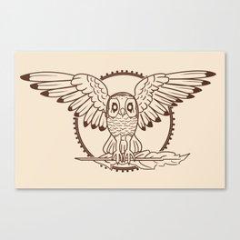 Mystical Owl Canvas Print