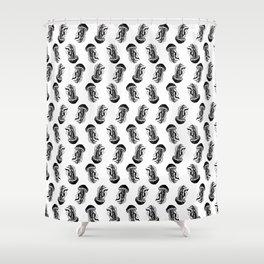 Jellyfish (white Shower Curtain