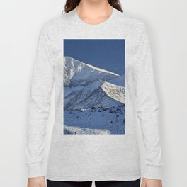 Snowy mountains. 3.478 meters Long Sleeve T-shirt