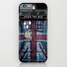 Tardis doctor who with Union jack paint  Slim Case iPhone 6