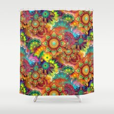 Gipsy Mandala's Shower Curtain