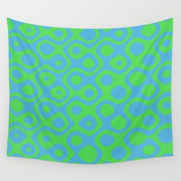 Brain Coral Green - Coral Reef Series 021 Wall Tapestry