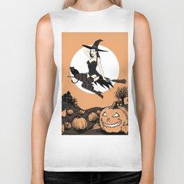 Witchy Vixen Biker Tank
