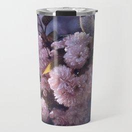 Chickadee - In Spring Pink Travel Mug